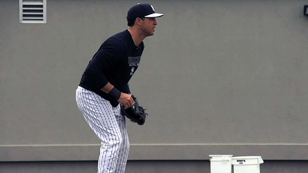 Teixeira glad to be back, and Yanks are glad, too