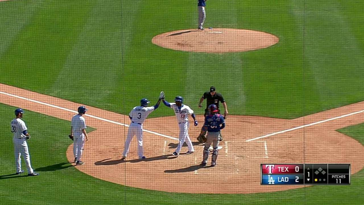 Ramírez pega HR en triunfo de Dodgers vs. Angels