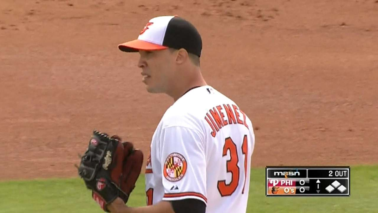 Off the grid: Focused Ubaldo ready for O's debut