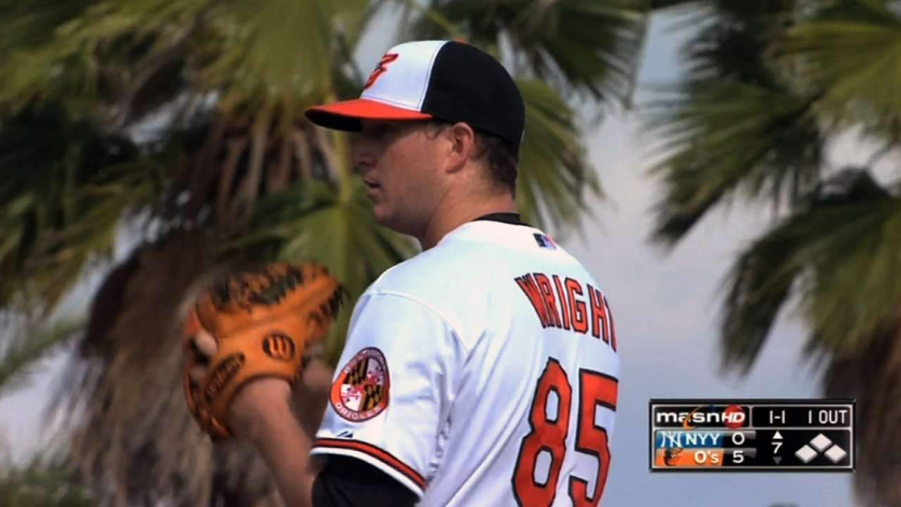 Wright's no-hitter hopes crushed in ninth
