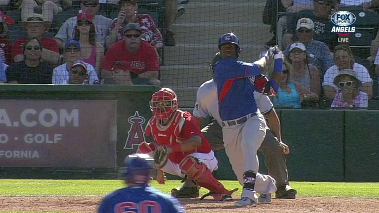 Valaika, Soler spark ninth-inning rally vs. Angels