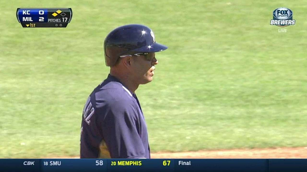 Aramis goes 2-for-2 in Cactus League debut