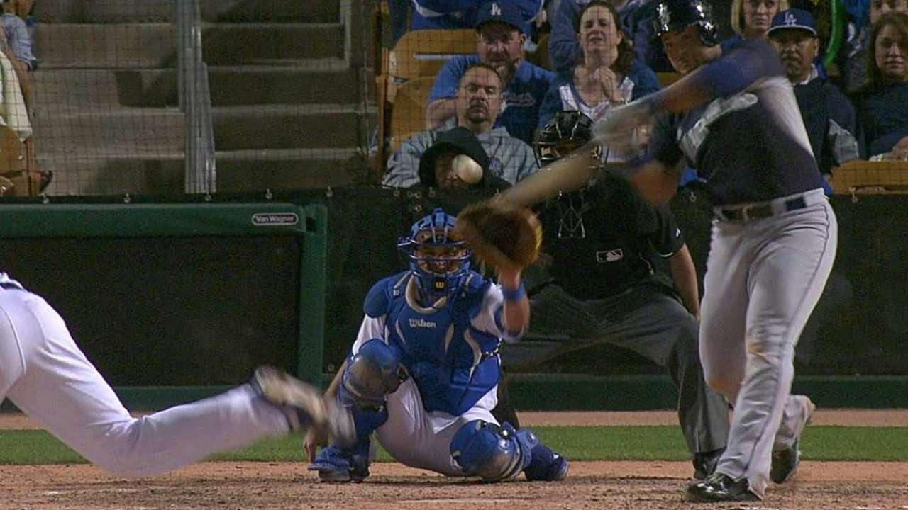 Montero's solo home run