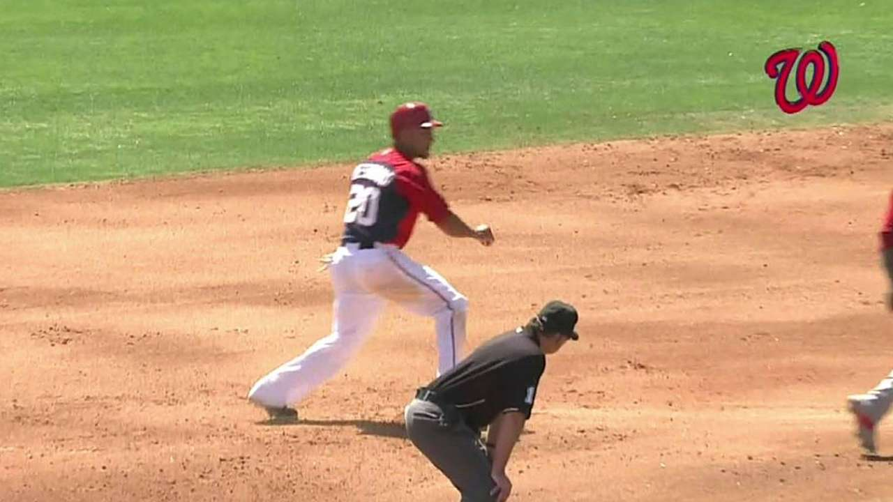 Desmond swipes team-best fourth base of spring