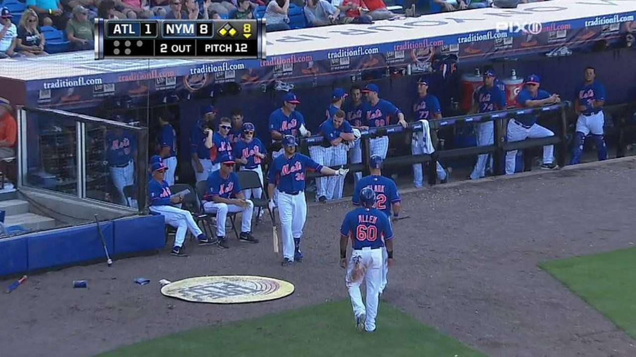 Mets plan to mix and match in leadoff spot