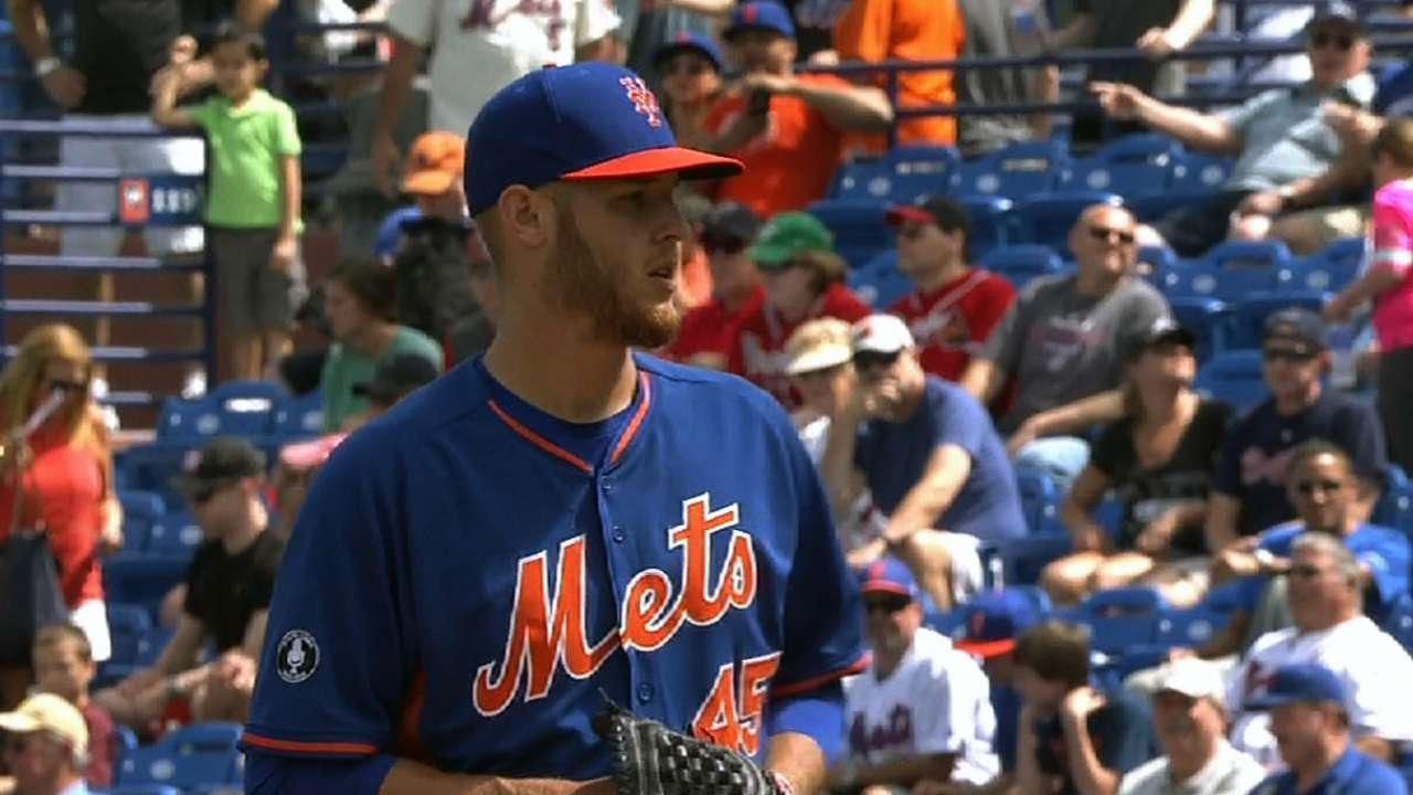 Wheeler y ataque de Mets brillaron contra Bravos