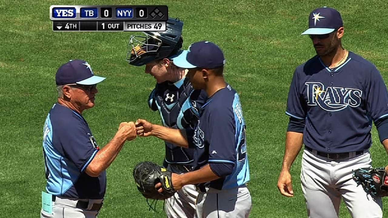 Archer delivers strong outing as Rays tie Yanks