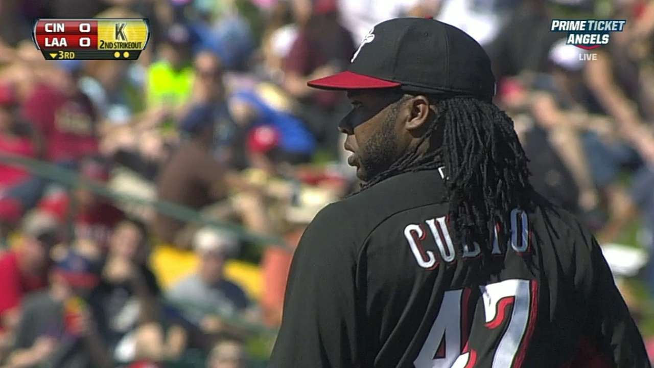 Cueto gets the nod for Reds on Opening Day