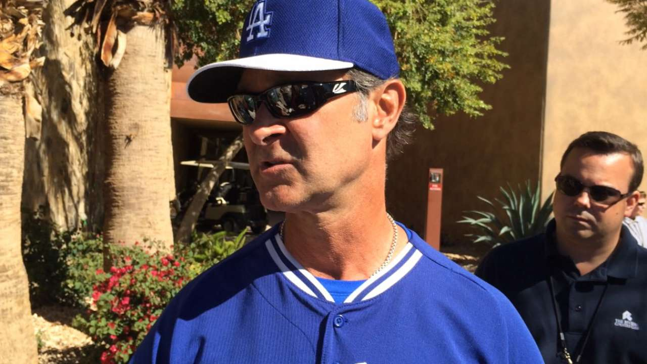 Mattingly taps Kershaw for Opening Day start