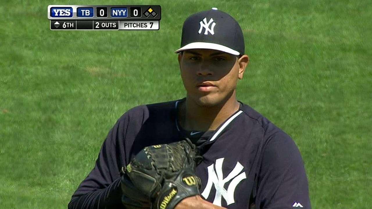 Girardi starting to think about bullpen's composition