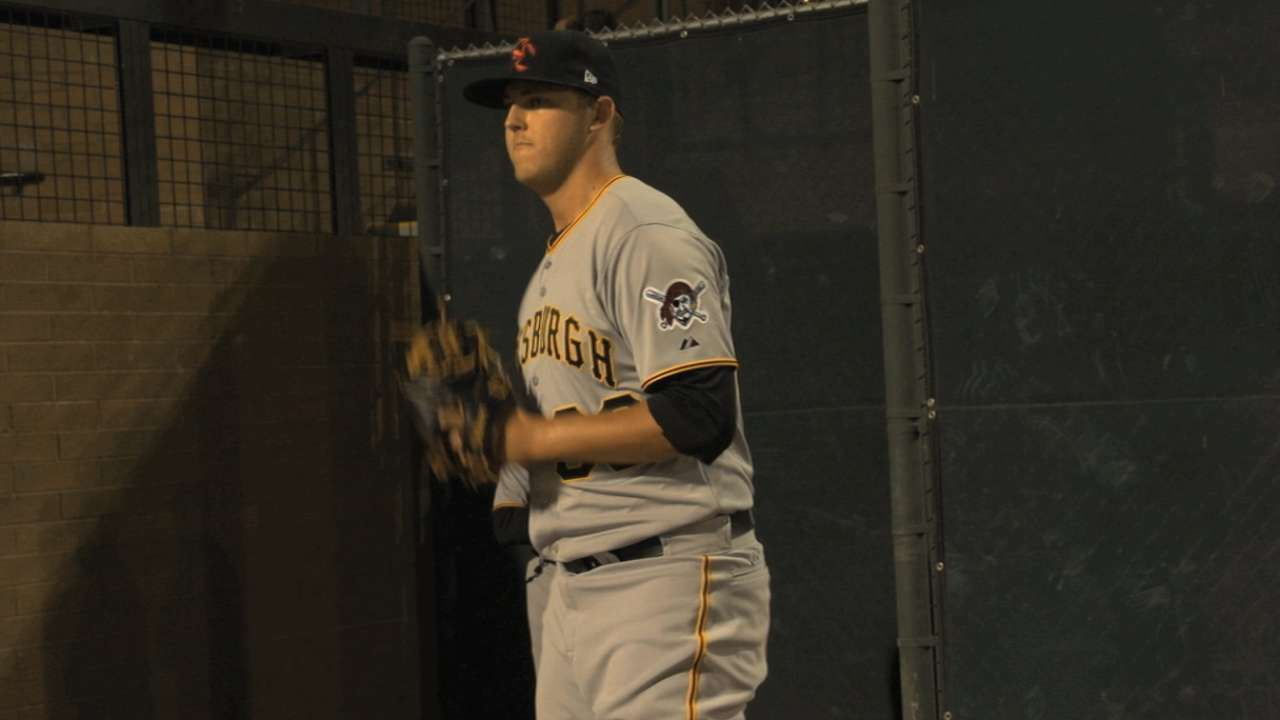 Bucs prospect Taillon opts for Tommy John surgery