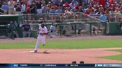 Papi hits first homer, ready to start season