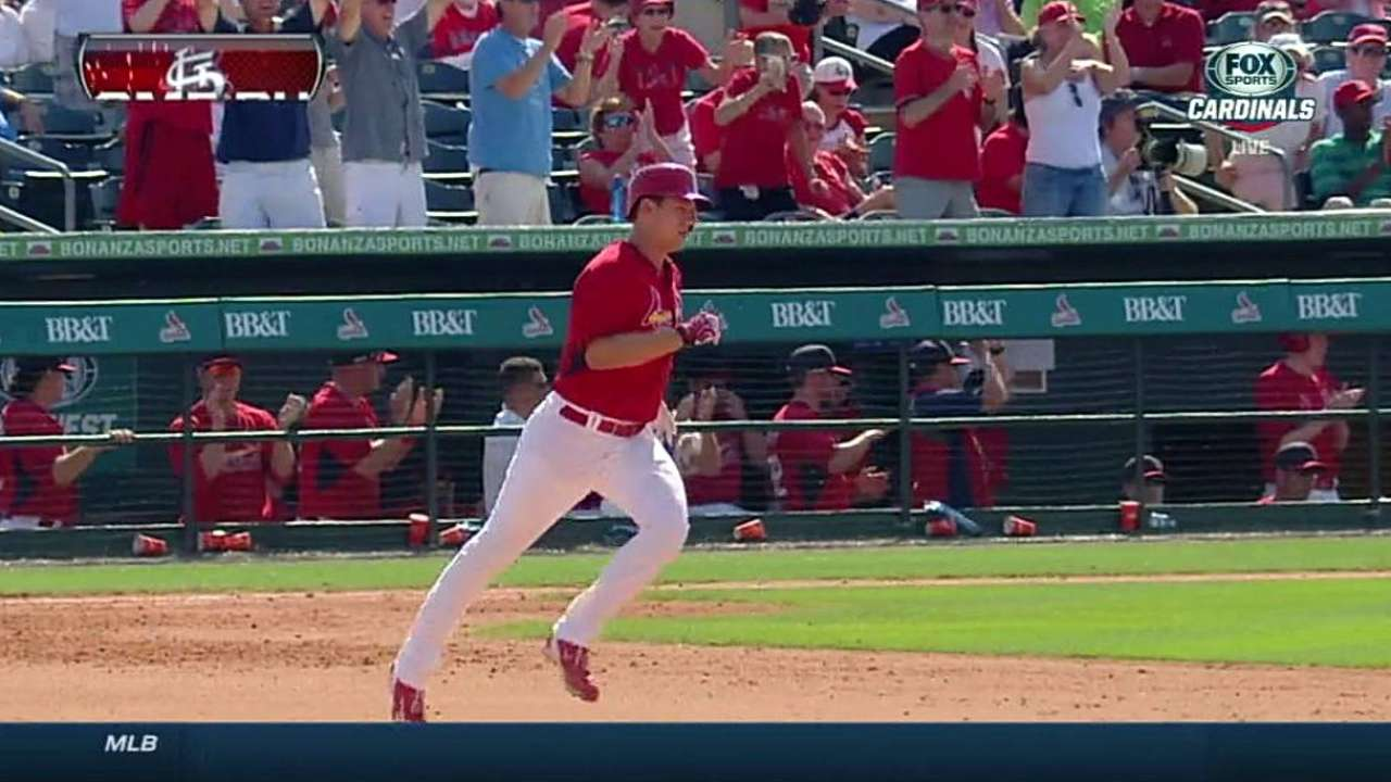 Piscotty belts three-run jack in loss to Tigers