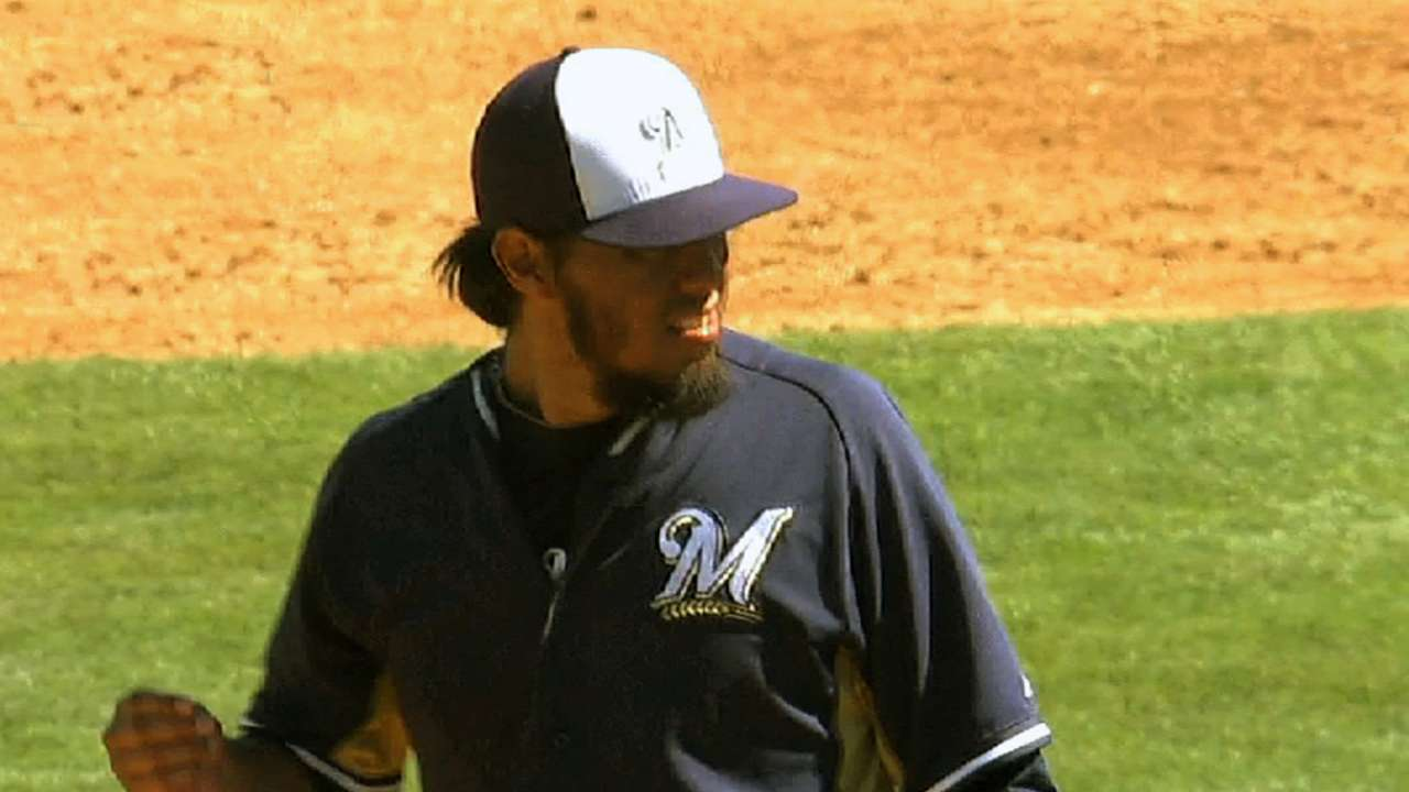 Stats aside, Brewers pitchers making 'progress'