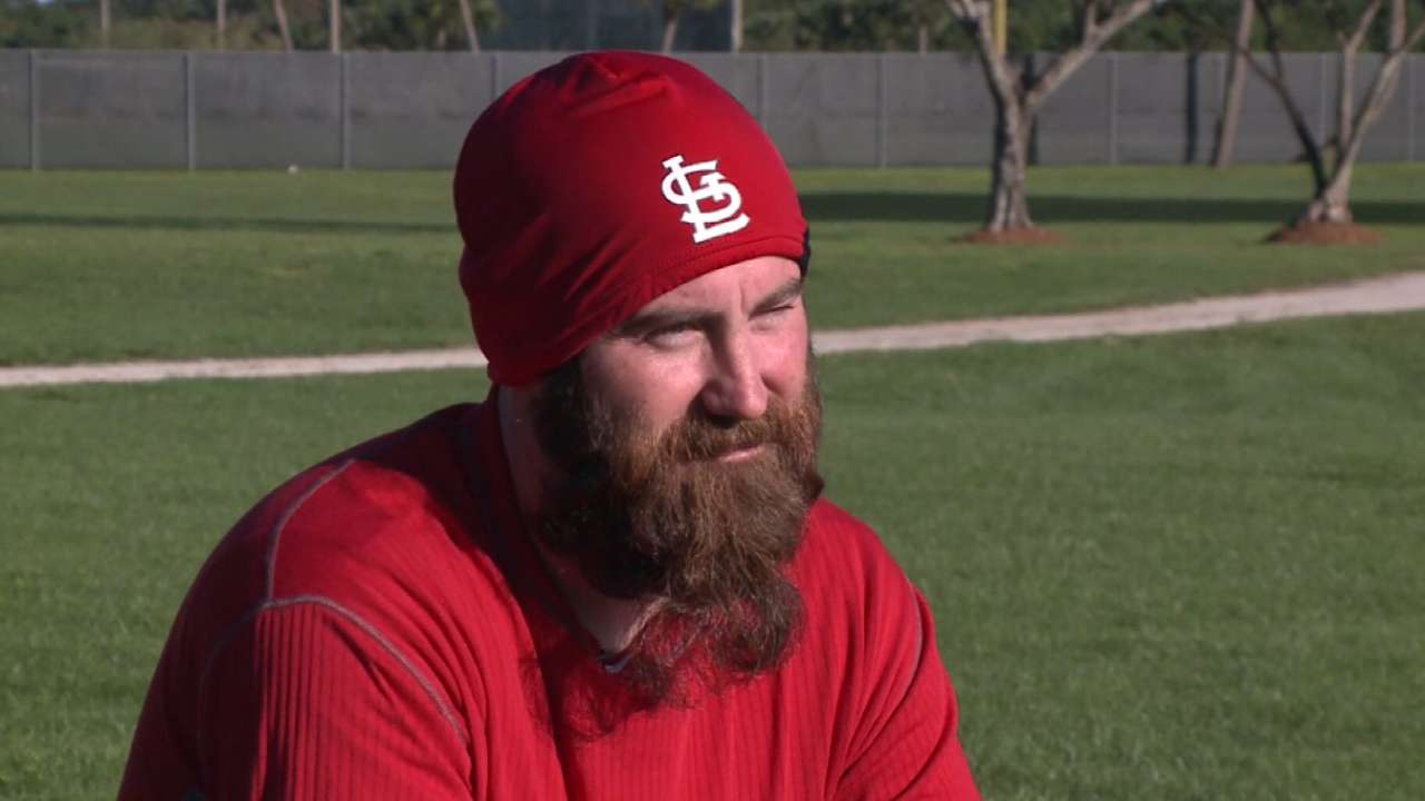 Motte serious about striking out cancer