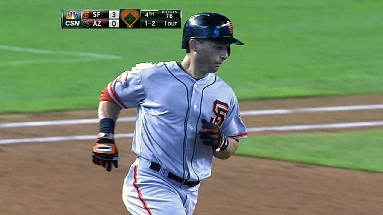 Scutaro, Affeldt make progress in spring work