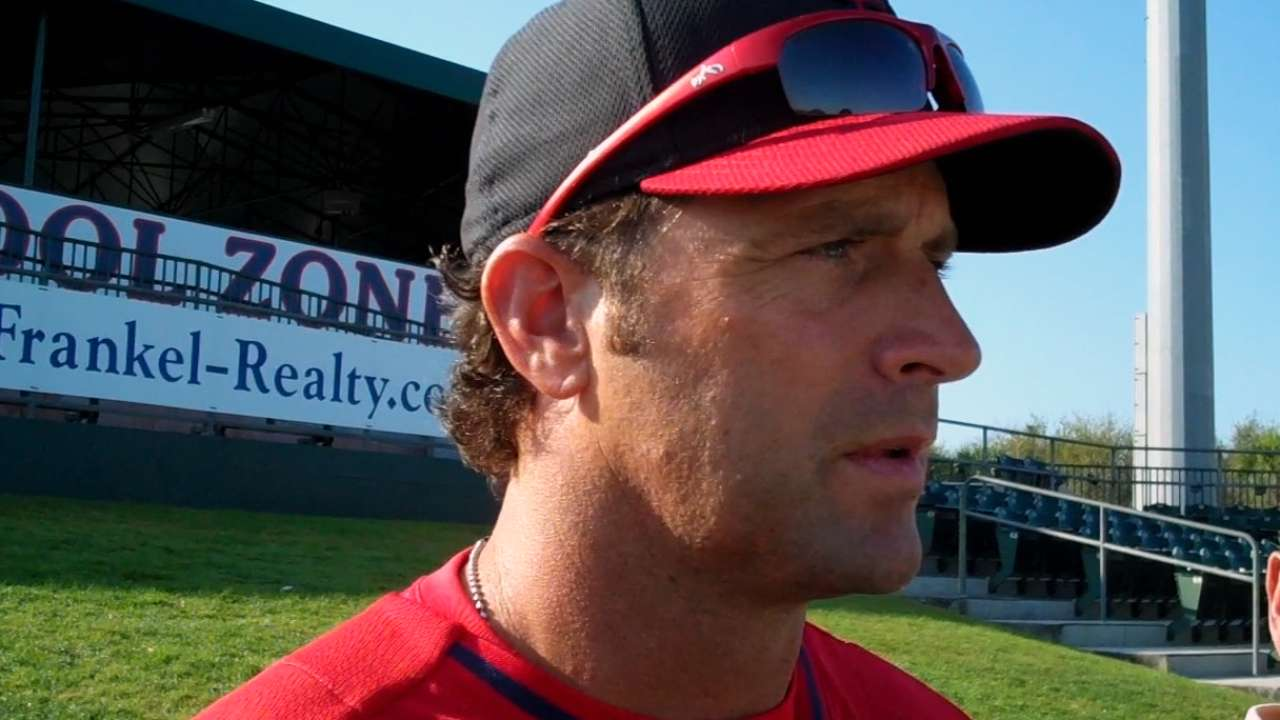 Diaz gets right to work as member of Cardinals