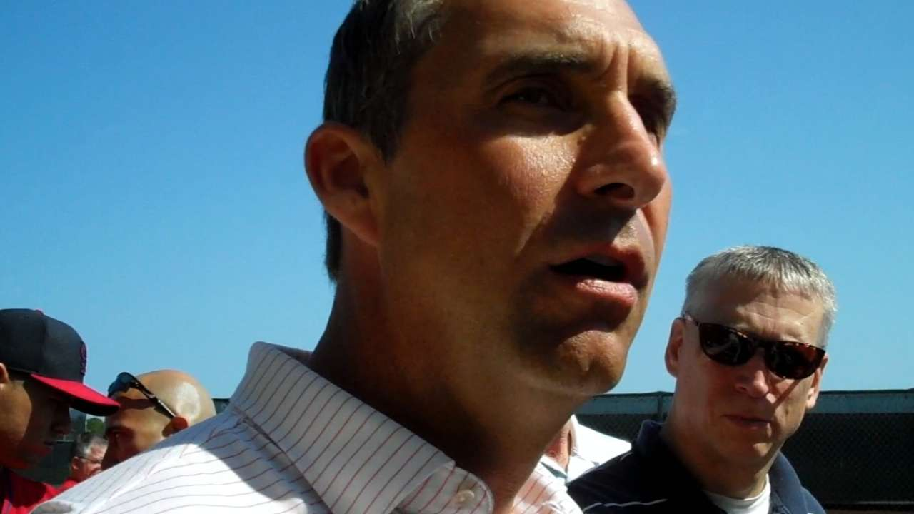Mozeliak excited about acquisition of Redbirds