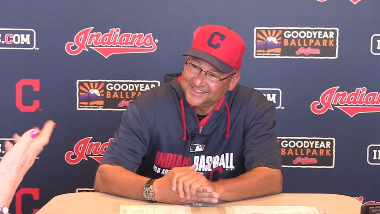 Tribe to iron out roster well ahead of season