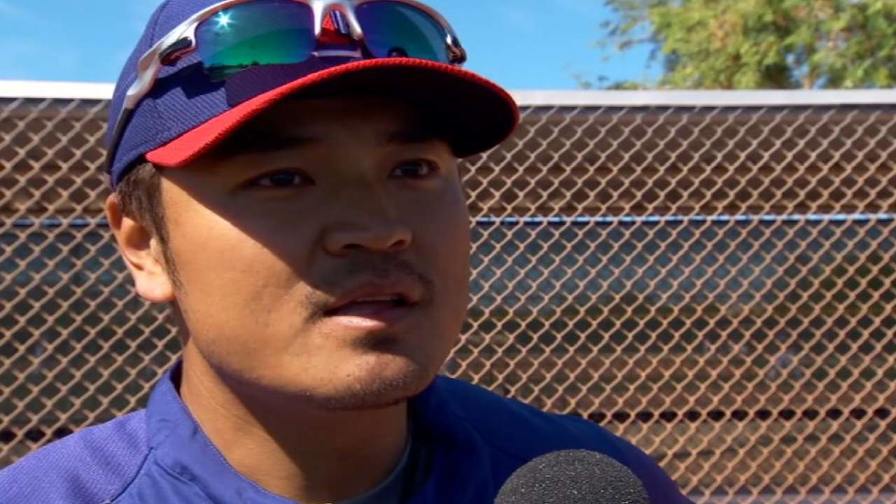 As destiny decrees, Choo an ideal leadoff man