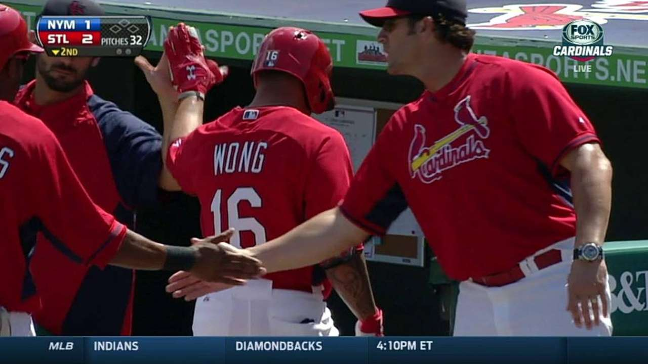 Wong working to lessen self-imposed pressure