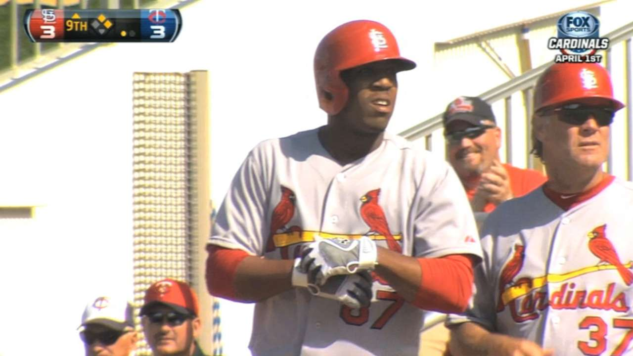 Top prospect Taveras ready for Redbirds game action