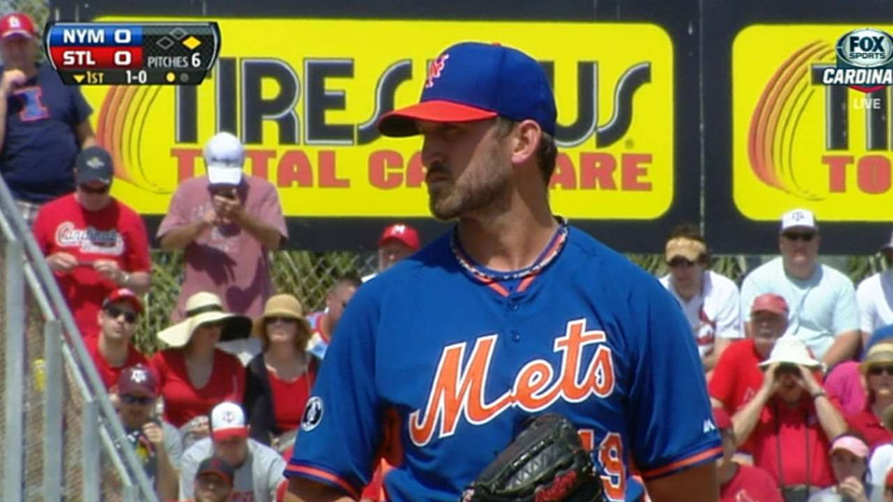 Niese sees positives in first spring start