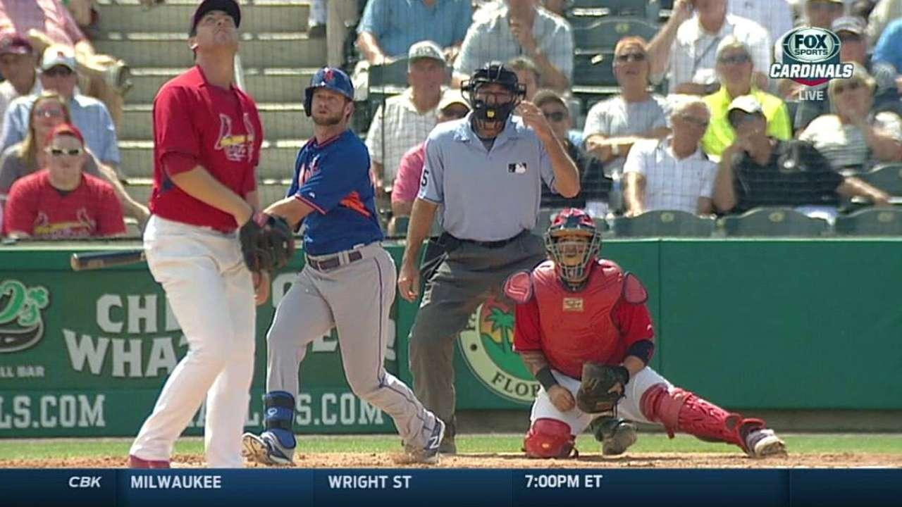 Niese tiene dificultades vs. San Luis, pero Mets ganan
