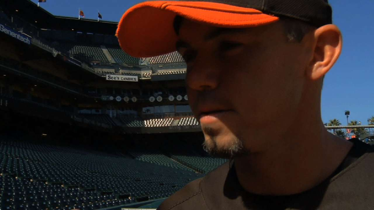 Bochy enjoys seeing former Giants