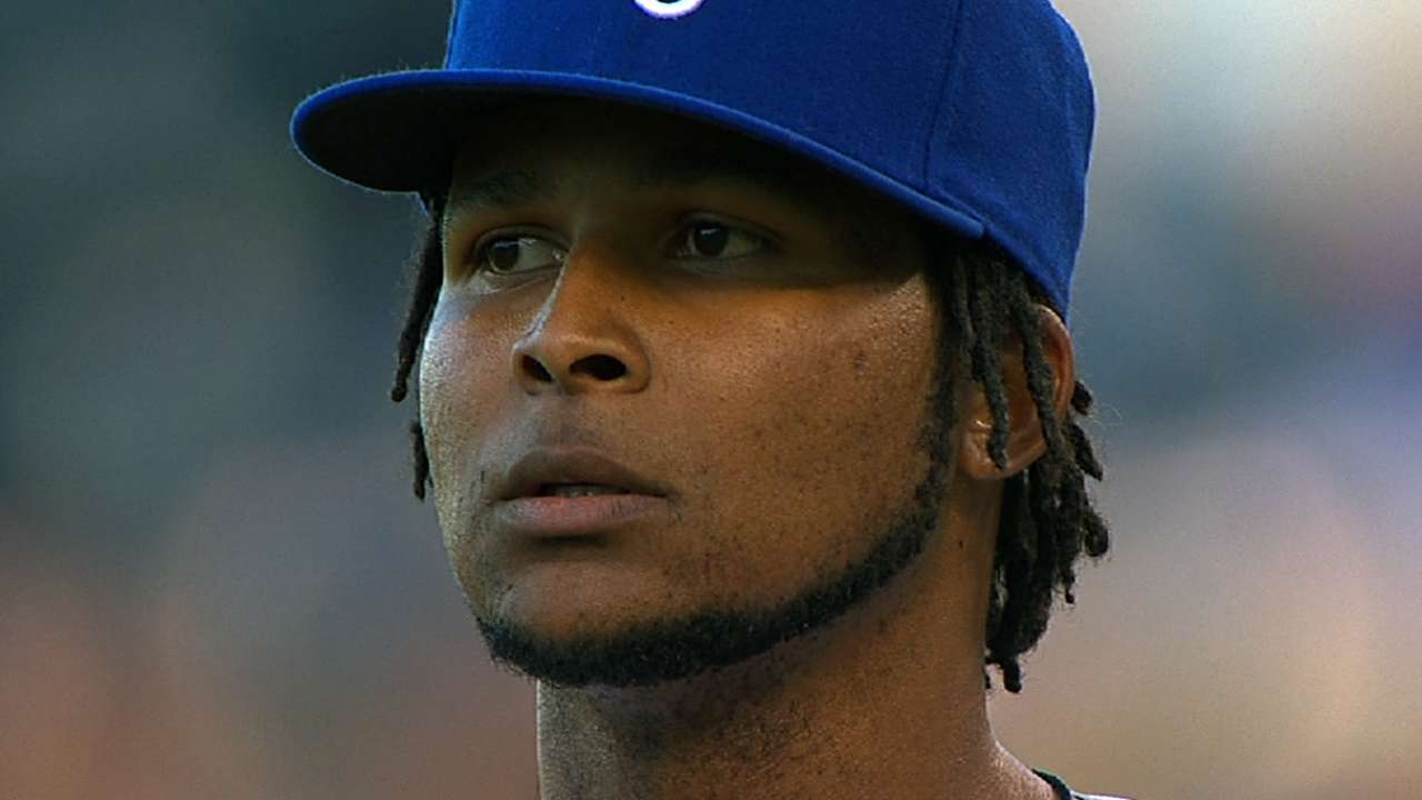 Royals GM Moore doesn't see Santana as a fit