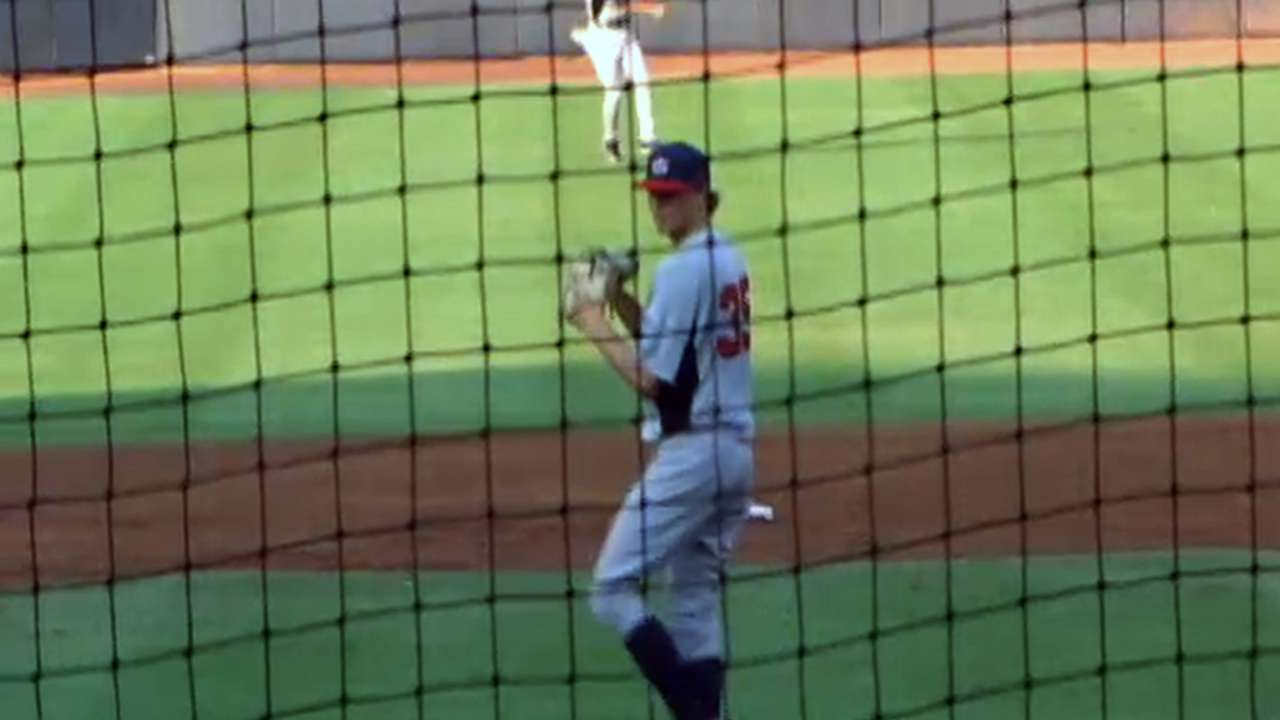 Rays prospect Stanek earns first win in Class A