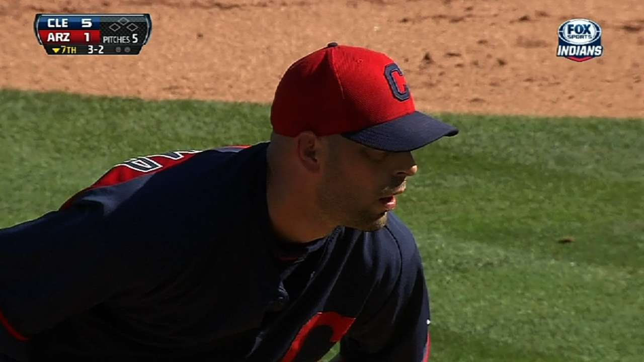 Veteran Aardsma granted release from Indians
