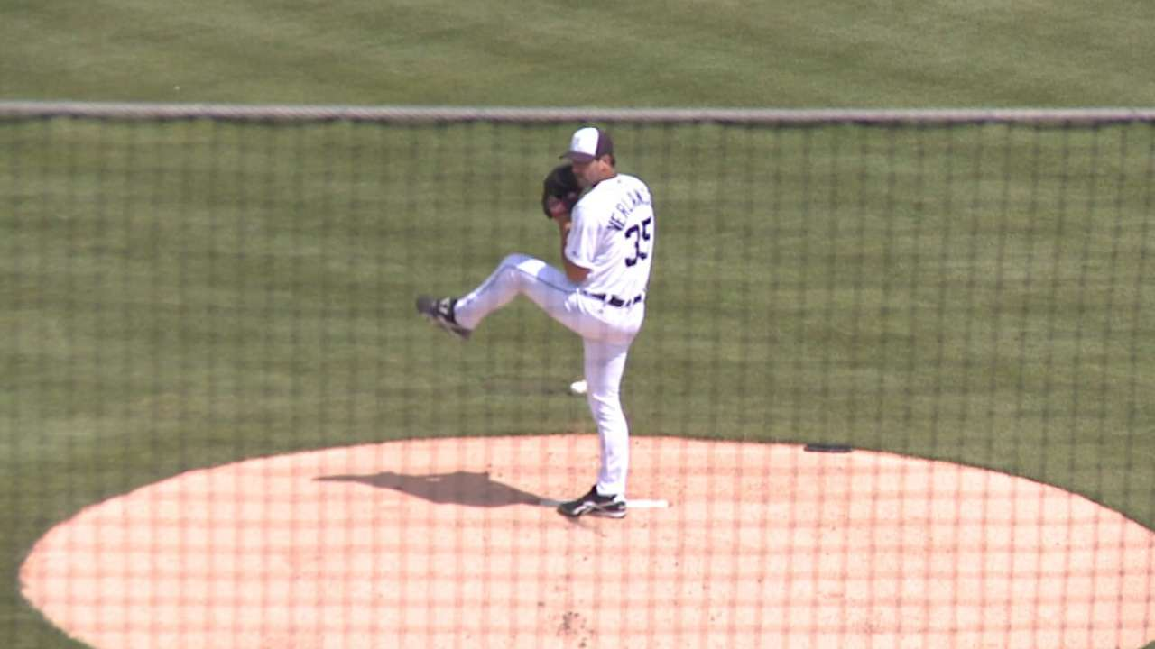 Verlander sails through first outing without a hitch