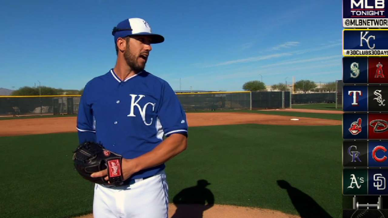 Royals set rotation into season's first week