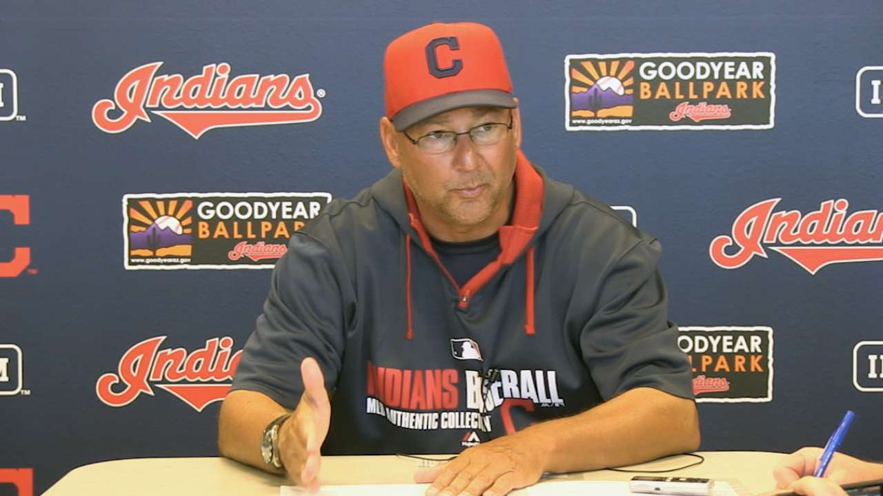 Marcum focused on big picture in Indians' camp