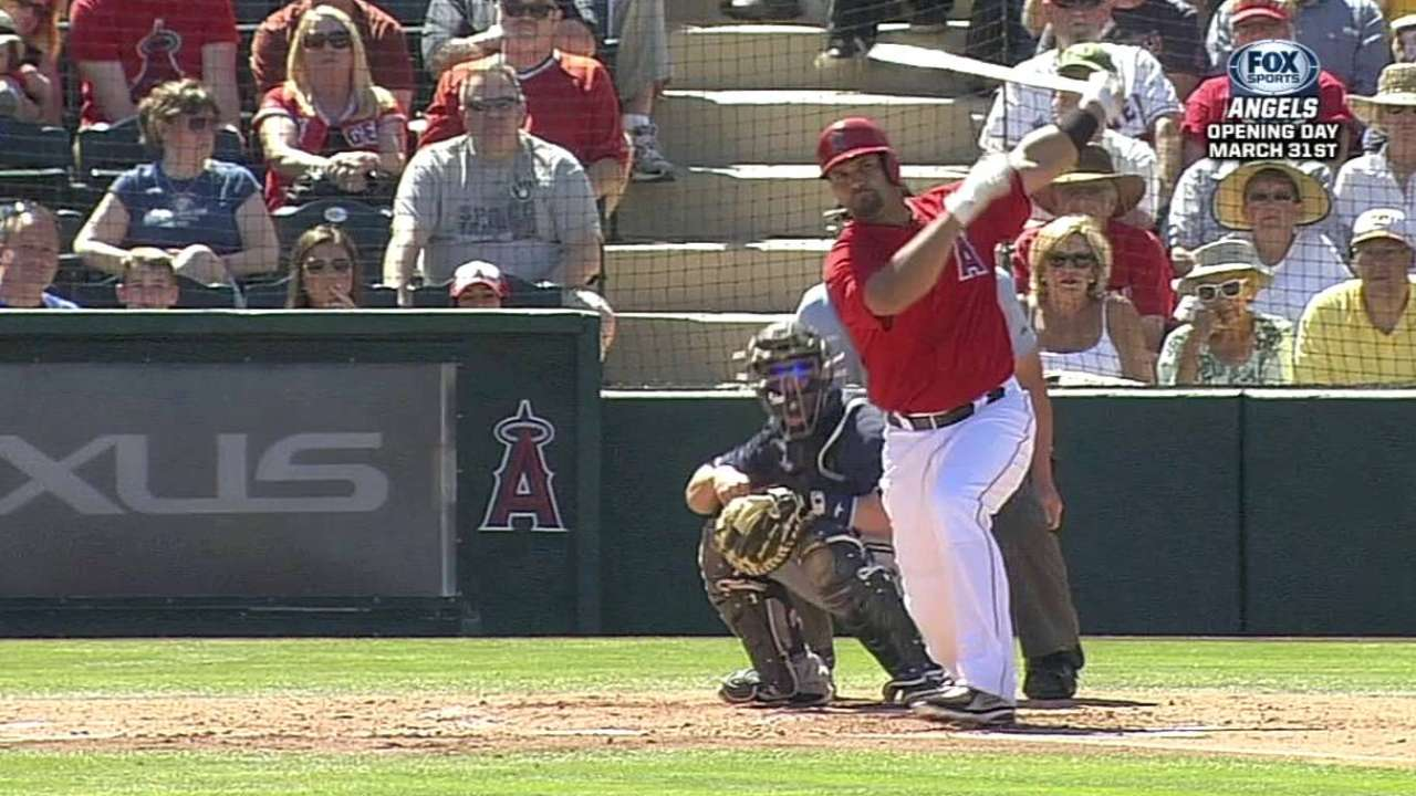 Spring numbers belie Pujols' improved health