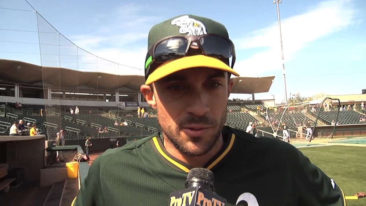 A's spring offensive outburst to erase early deficit