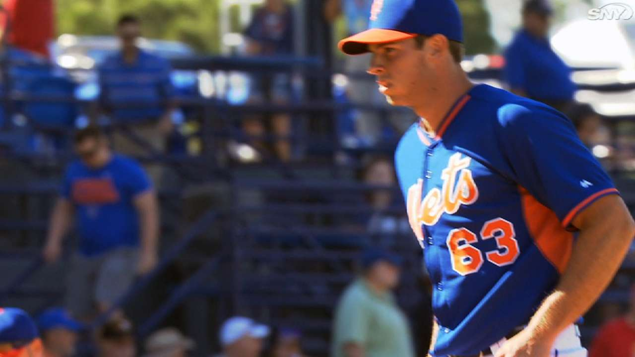 Inbox: Which Mets pitcher has the most potential?