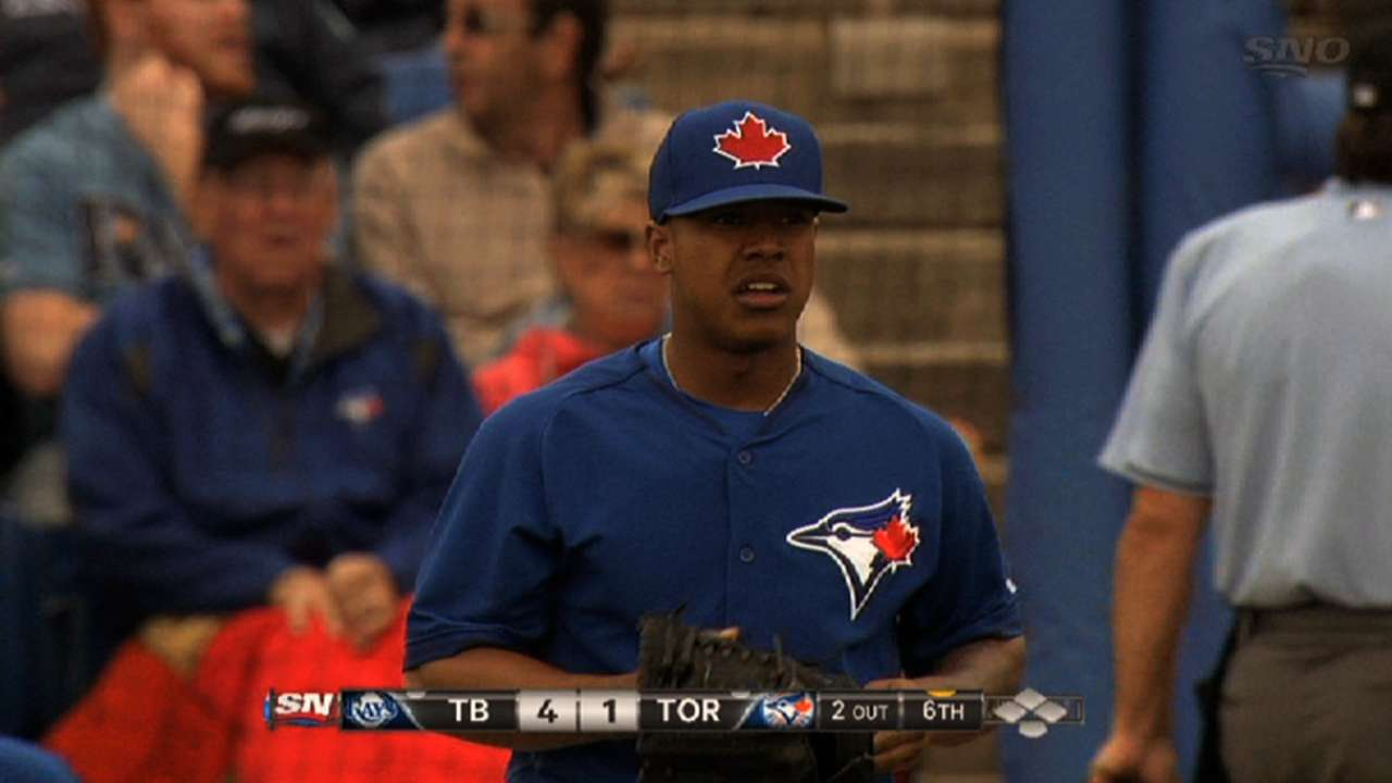 Prospect Stroman's start pushed back to Tuesday