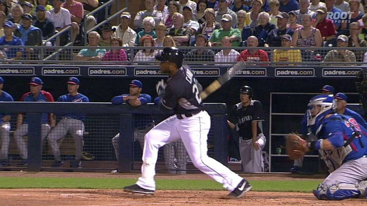Cano smokes two doubles to lift average over .600