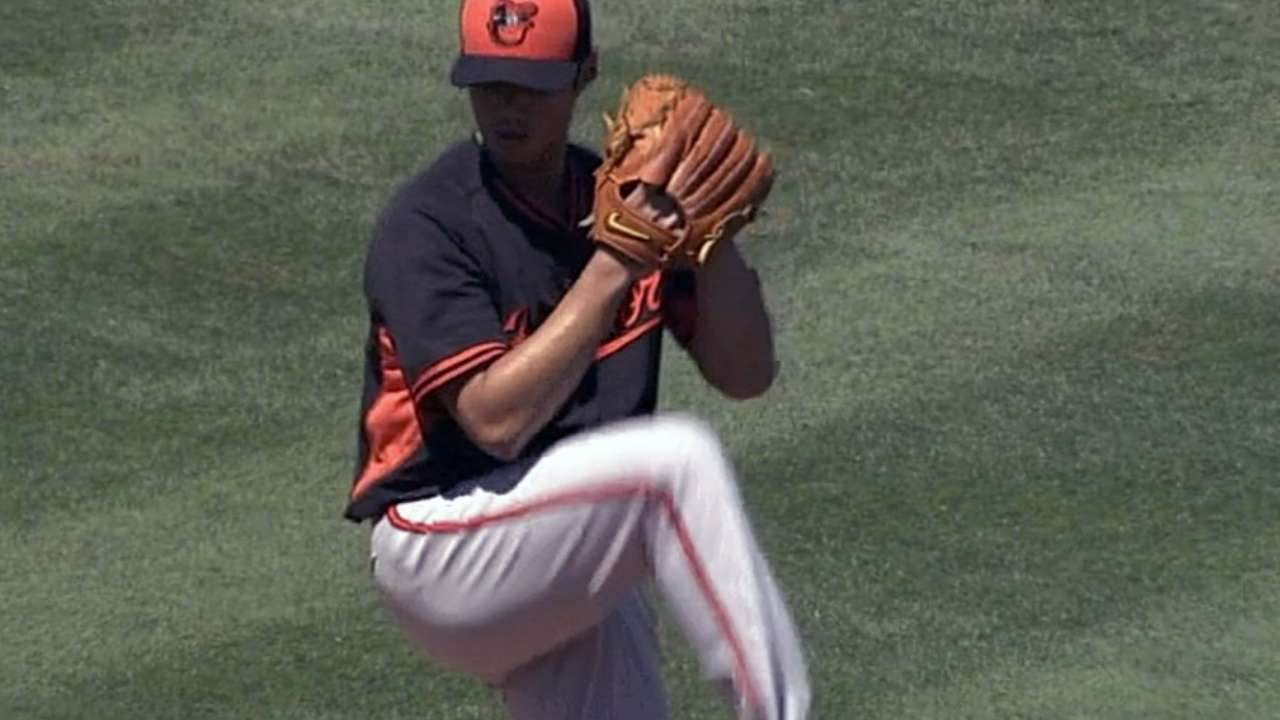 Chen will start third game of season for O's