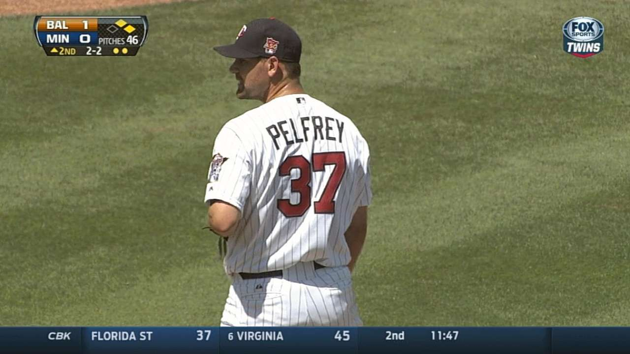 Pelfrey happy with his longest spring outing