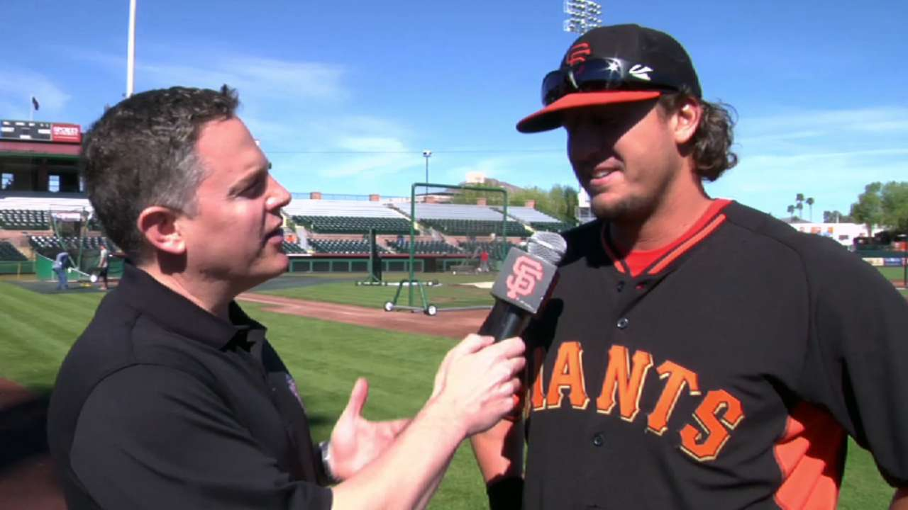 Minicozzi wins Giants' spring Jordan Award