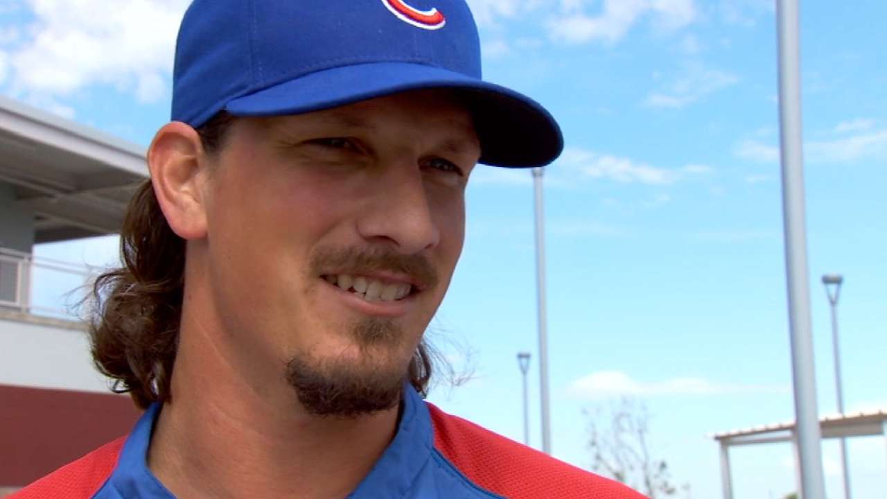 Samardzija set for second straight Opening Day start