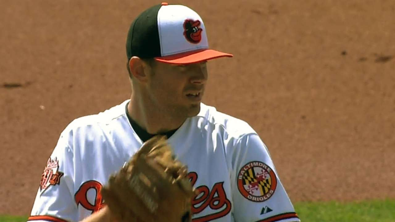 Orioles tab Tillman to start Opening Day