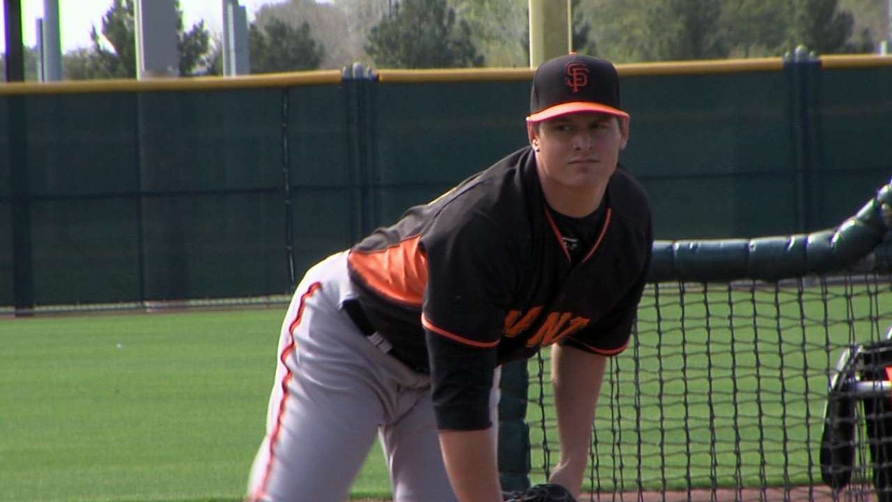 Giants flush with arms in Minor League system