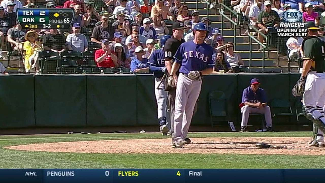 Breakout by Moreland could put Texas over the top