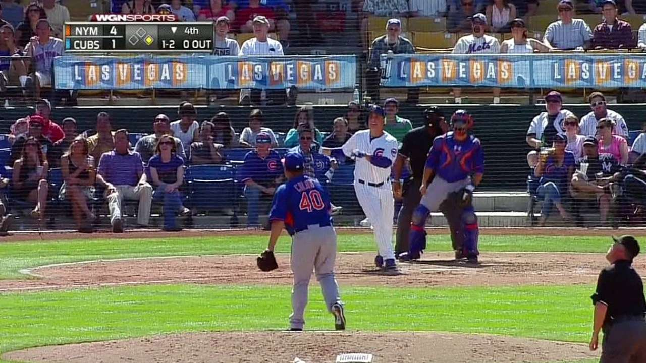 Rizzo hits first two spring homers in Vegas