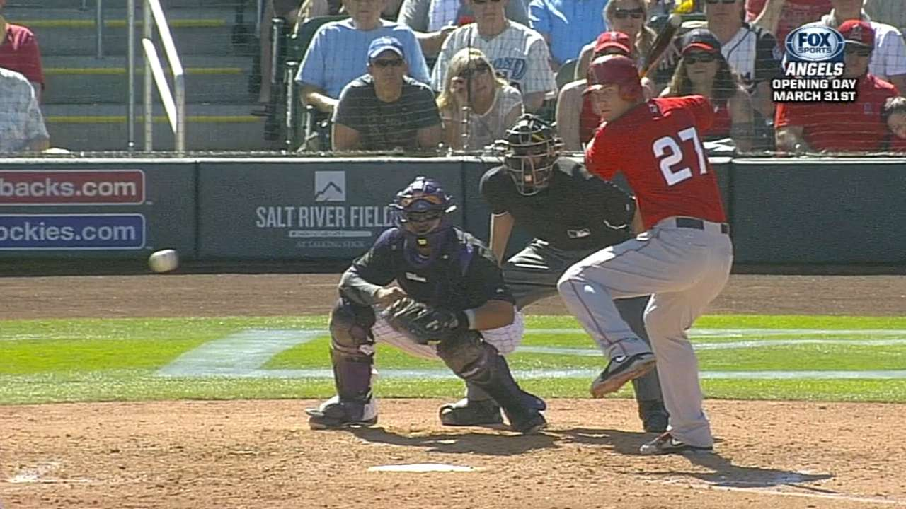 Trout displays unique ability to tune out distractions