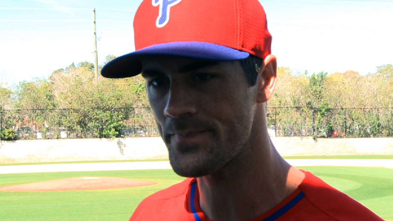Bullpen session a positive step for Hamels